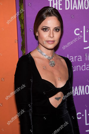 Sophia Amoruso attends the 5th annual Diamond Ball benefit gala at Cipriani Wall Street, in New York
