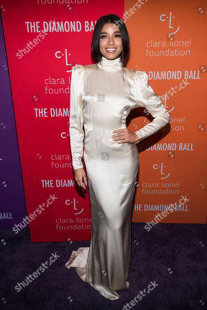 Yovanna Ventura attends the 5th annual Diamond Ball benefit gala at Cipriani Wall Street, in New York