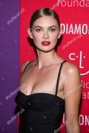 Megan Williams attends the 5th annual Diamond Ball benefit gala at Cipriani Wall Street, in New York