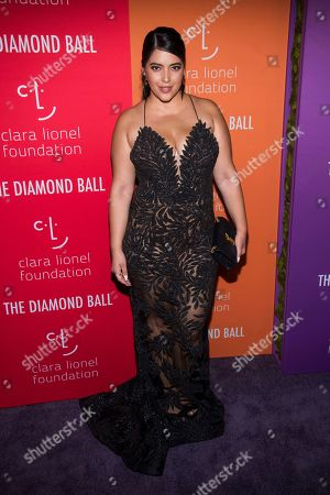 Stock Image of Denise Bidot attends the 5th annual Diamond Ball benefit gala at Cipriani Wall Street, in New York