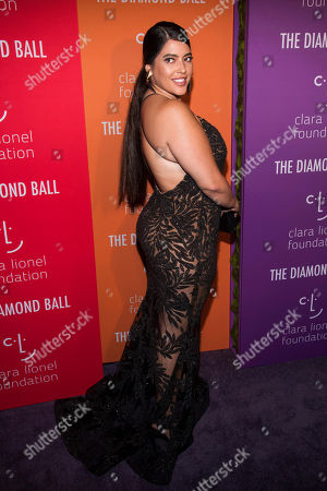 Denise Bidot attends the 5th annual Diamond Ball benefit gala at Cipriani Wall Street, in New York