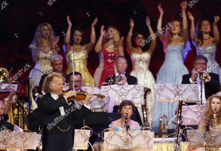 Editorial picture of Violinist Andre Rieu's concert in Bogota, Colombia - 12 Sep 2019