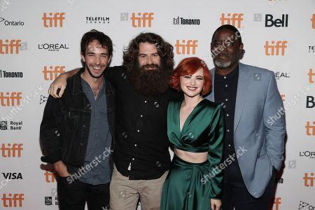 Jake Horowitz, Director Andrew Patterson, Sierra McCormick and Bruce Davis