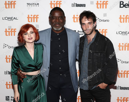 Editorial picture of 'The Vast of Night' premiere, Arrivals, Toronto International Film Festival, Canada - 12 Sep 2019