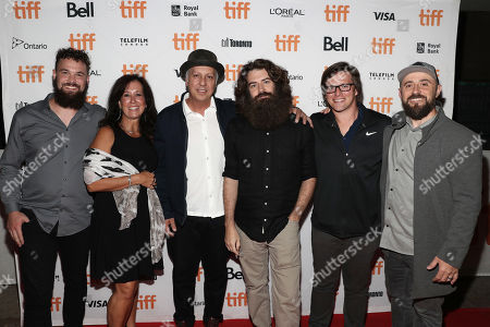 Executive Producer Caleb Henry, Producer Melissa Kirkendall, Cinematographer M.I. Littin-Menz, Director Andrew Patterson, Executive Producer Marcus Ross and Producer Adam Dietrich