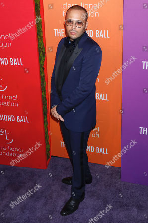 Editorial photo of 5th Annual Clara Lionel Foundation Diamond Ball, Arrivals, Cipriani Wall Street, New York, USA - 12 Sep 2019