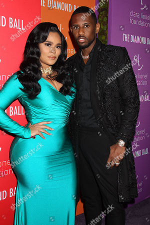 Stock Picture of Emily Bustamante and Fabolous