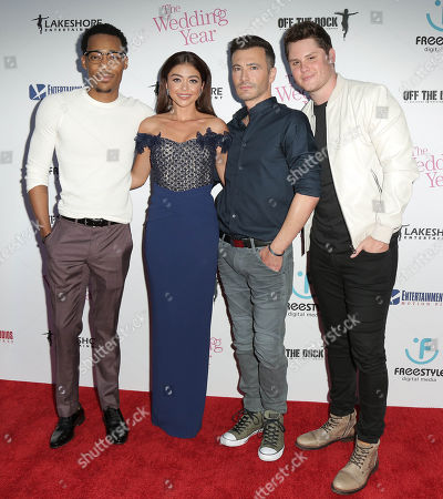 Tyler James Williams, Sarah Hyland, Robert Luketic, Matt Shively