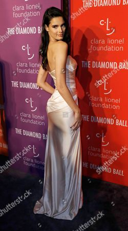 Belgian model Camille Ringoir attends Rihanna's 5th Annual Diamond Ball, benefiting the Clara Lionel Foundation, at Cipriani Wall Street in New York, New York, USA, 12 September 2019.