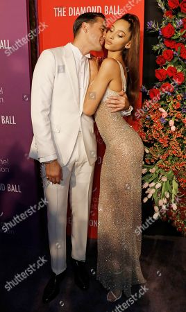 US rapper G-Eazy (L) and Dutch fashion model Yasmin Wijnaldum (R) attend Rihanna's 5th Annual Diamond Ball, benefiting the Clara Lionel Foundation, at Cipriani Wall Street in New York, New York, USA, 12 September 2019.