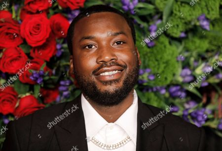 Stock Picture of US rapper Robert Williams, known professionally as Meek Mill, attends Rihanna's 5th Annual Diamond Ball, benefiting the Clara Lionel Foundation, at Cipriani Wall Street in New York, New York, USA, 12 September 2019.
