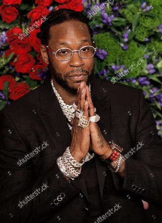 US rapper Tauheed Epps, known professionally as 2 Chainz, attends Rihanna's 5th Annual Diamond Ball, benefiting the Clara Lionel Foundation, at Cipriani Wall Street in New York, New York, USA, 12 September 2019.
