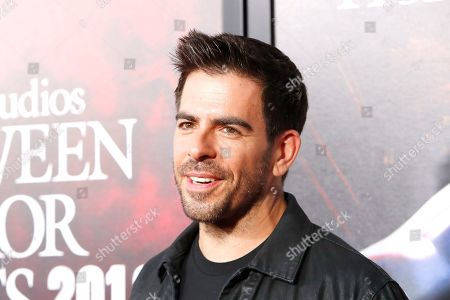 Eli Roth at the opening celebration for Halloween Horror Nights at Universal Studios Hollywood in Los Angeles, California, USA 12 September 2019.