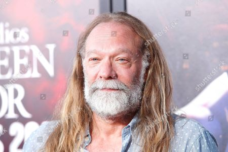 US special make-up effects creator, television producer, and director Greg Nicotero at the opening celebration for Halloween Horror Nights at Universal Studios Hollywood in Los Angeles, California, USA 12 September 2019.