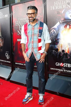 Jaime Camil at the opening celebration for Halloween Horror Nights at Universal Studios Hollywood in Los Angeles, California, USA 12 September 2019.
