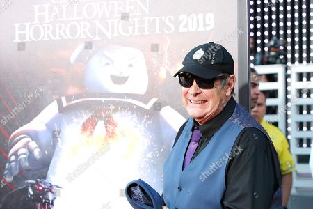 Stock Photo of Dan Aykroyd at the opening celebration for Halloween Horror Nights at Universal Studios Hollywood in Los Angeles, California, USA 12 September 2019.