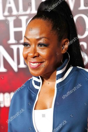 Stock Picture of Tichina Arnold at the opening celebration for Halloween Horror Nights at Universal Studios Hollywood in Los Angeles, California, USA 12 September 2019.