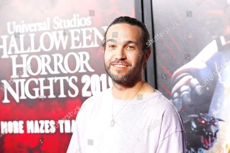 Pete Wentz at the opening celebration for Halloween Horror Nights at Universal Studios Hollywood in Los Angeles, California, USA 12 September 2019.