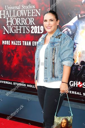 Angelica Vale at the opening celebration for Halloween Horror Nights at Universal Studios Hollywood in Los Angeles, California, USA 12 September 2019.