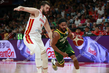 Editorial picture of FIBA Basketball World Cup 2019, Beijing, China - 13 Sep 2019