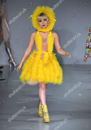 Ellie Rae Winstone on the catwalk