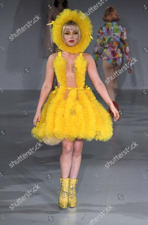 Editorial image of Pam Hogg show, Runway, Spring Summer 2020, London Fashion Week, UK - 13 Sep 2019