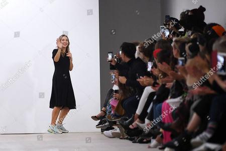 Editorial photo of Marta Jakubowski show, Runway, Spring Summer 2020, London Fashion Week, UK - 13 Sep 2019