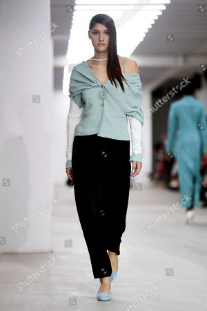 Editorial image of Marta Jakubowski show, Runway, Spring Summer 2020, London Fashion Week, UK - 13 Sep 2019