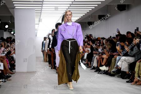 Editorial picture of Marta Jakubowski show, Runway, Spring Summer 2020, London Fashion Week, UK - 13 Sep 2019