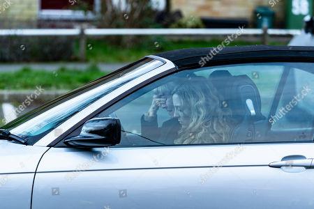 Imelda Staunton as Karen Edwards and Stephanie Hyam as Becky Gooden-Edwards.