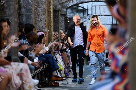 Editorial photo of Fyodor Golan show, Runway, Spring Summer 2020, London Fashion Week, UK - 14 Sep 2019