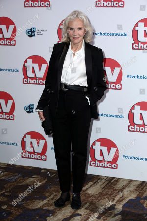 Hayley Mills poses for photographers on arrival at the TV Choice Awards in central London on