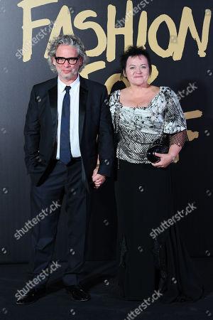 Dexter Fletcher and Dalia Ibelhauptaite