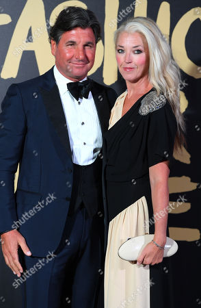 Stock Picture of Giorgio Veroni and Tamara Beckwith