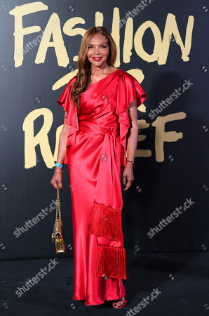 Editorial picture of Fashion For Relief, Arrivals, Spring Summer 2020, London Fashion Week, UK - 14 Sep 2019