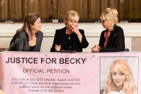 Imelda Staunton as Karen Edwards and Morwenna Banks as Tracey Mullane.