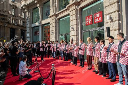 Editorial photo of Opening of the first Uniqlo store in Italy - 13 Sep 2019