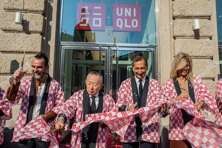Editorial picture of Opening of the first Uniqlo store in Italy - 13 Sep 2019