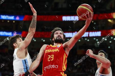 Argentina v Spain, Final