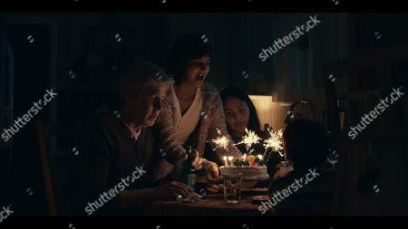 J.C. MacKenzie as Mickey, Poorna Jagannathan as Kerri and Rhianne Barreto as Mandy