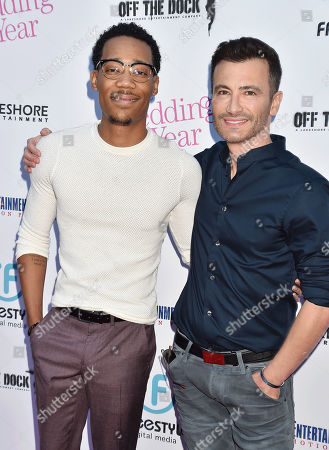 Stock Picture of Tyler James Williams, Robert Luketic