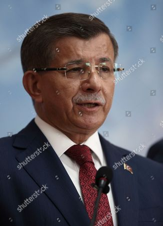 Ahmet Davutoglu, Recep Tayyip Erdogan, Binali Yildirim. Former Turkish Prime Minister Ahmet Davutoglu announces his resignation from the ruling Justice and Development Party, or AKP, in Ankara, Turkey, . Davutoglu announced his resignation from President Recep Tayyip Erdogan's ruling party and announced plans to form a new political movement