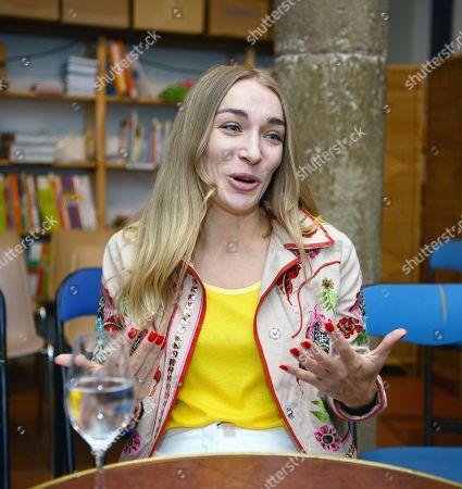 Editorial photo of Inna Shevchenko 'Heroics' book launch, Vienne, France - 11 Sep 2019