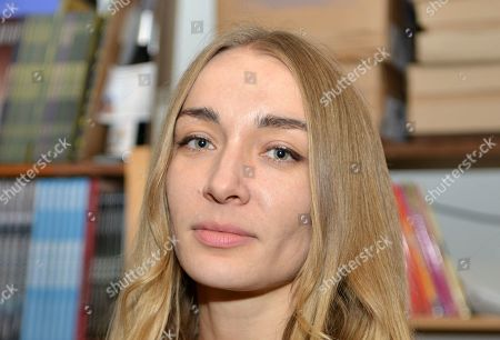 Editorial picture of Inna Shevchenko 'Heroics' book launch, Vienne, France - 11 Sep 2019