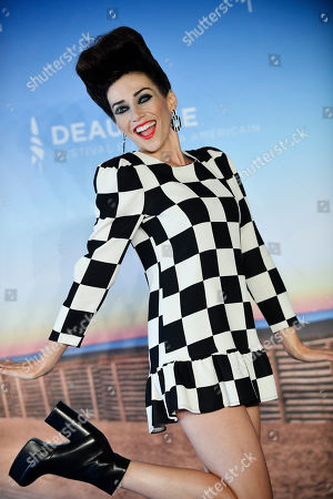 Jocelyn DeBoer poses at the photocall for 'Greener Grass' during the 45th Deauville American Film Festival, in Deauville, France, 13 September 2019. The festival runs from 06 to 15 September.