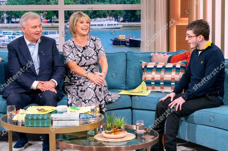 Eamonn Holmes and Ruth Langsford with Jack Carroll