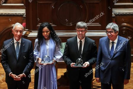 Editorial photo of 2018 North-South Prize, Lisbon, Portugal - 13 Sep 2019