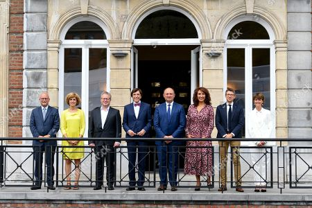 Editorial photo of Elio Di Rupo sworn in as new Walloon Minister President, Brussels, Belgium - 13 Sep 2019
