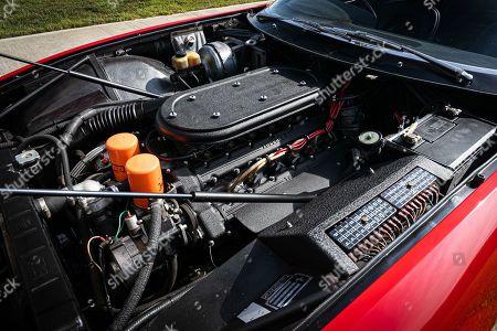 Stock Image of 365 GTB/4 Daytona car