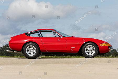 Editorial photo of Sale of Elton John Ferrari Daytona car, UK - Sep 2019